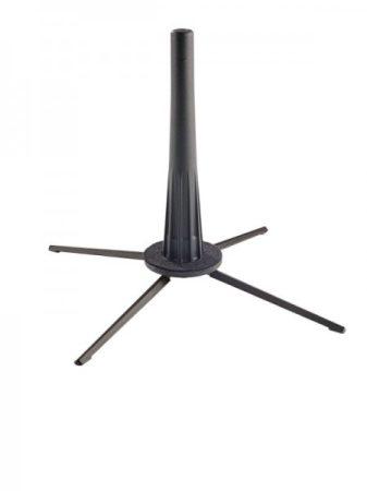König & Meyer angolkürt állvány – 5 lábbal, könnyen szállítható, fekete
