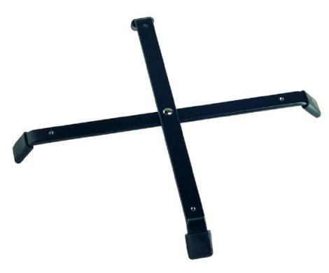 König & Meyer állvány láb – 4 tartóelem szerelhető rá, fekete