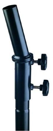 König & Meyer hangfal adapter – döntött, 35 mm átmérőjű állványhoz, 15 fok dőléssel, fekete