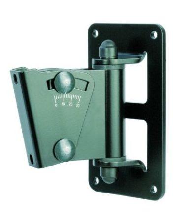 König & Meyer hangfaltartó, fali univerzális, dönthető lappal, max teherbírás 15 kg, fekete