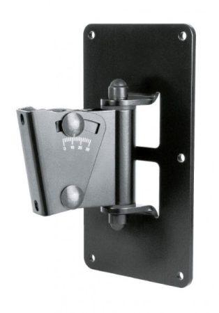 König & Meyer hangfaltartó, fali univerzális, dönthető lappal, max teherbírás 25 kg, fekete