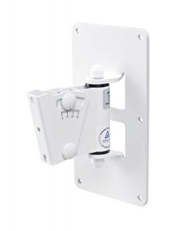 König & Meyer hangfaltartó, fali univerzális, dönthető lappal, max teherbírás 25 kg, fehér