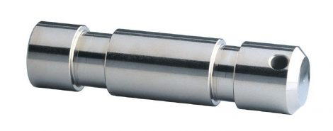 König & Meyer stift, TV csatlakozó – átmérő: 28 mm, M10x34 mm belső menettel, hossz: 115 mm, zink