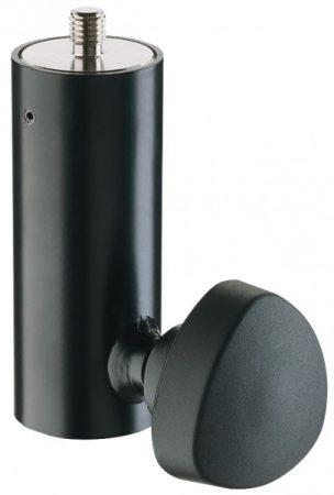 König & Meyer illesztő perem hangfal állványhoz, átmérő: 36 mm, M10x12 mm csavarral, fekete