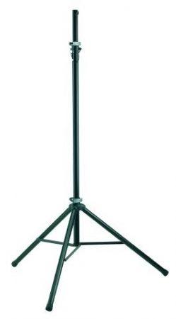 König & Meyer világítás állvány alumínium, fekete, TV csatlakozóhoz adapter, teherbírás 20 kg
