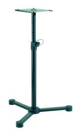 König & Meyer monitorállvány – acél, 3 lábbal, teherbírás 35 kg, 205x245 mm-es lappal