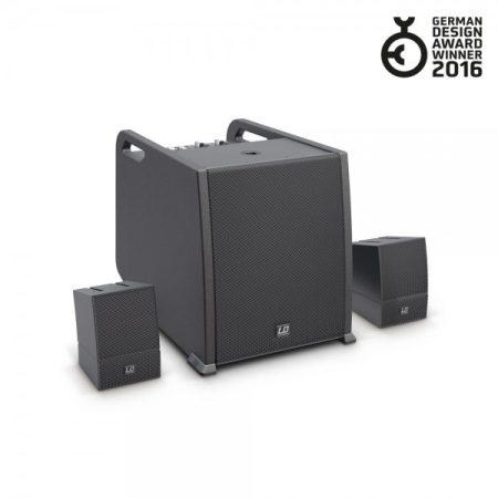 LD Systems hordozható array rendszer – AV készlet, hangfalkábelekkel LS-LDCURV500AVS