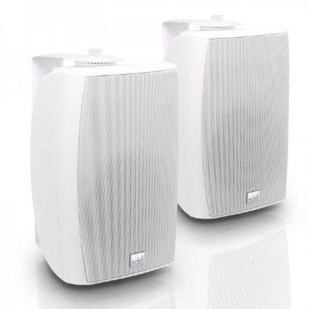 """LD Systems Contractor CWMS 52W 100V – 5,25""""-os kétutas, falra szerelhető hangszórópár, 100 V-os rendszerekhez, fehér"""