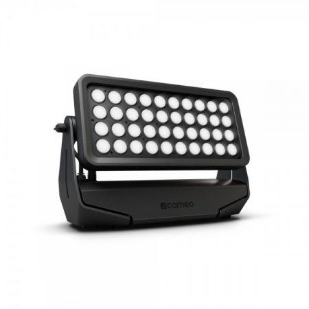 Cameo Light LED Outdoor Zenit W 600 Daylight Version professzionális Wash lámpa – 40x18 W fehér CreeLED, összesen 41000 lm fényárammal, 5600K, IP65