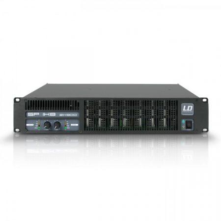 LD Systems professzionális végerősítő 2 x 880 W/2 Ohm