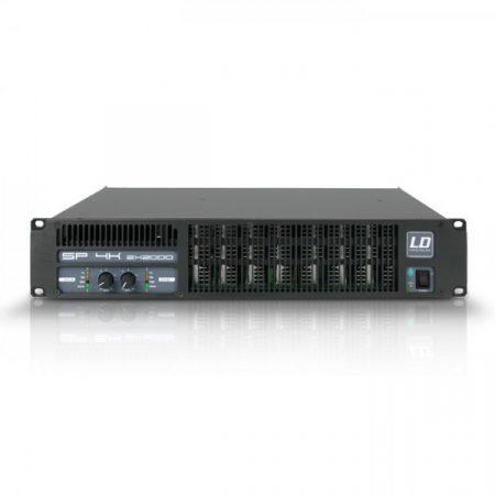 LD Systems professzionális végerősítő 2 x 1950W/2 Ohm