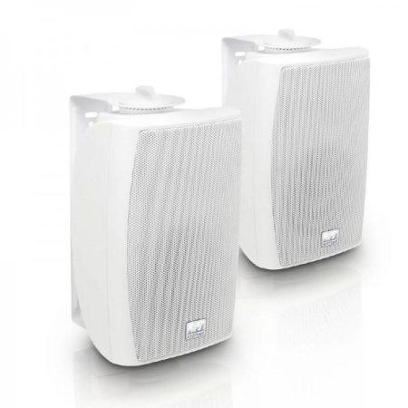 """LD Systems Contractor CWMS 42W – 4""""-os kétutas, falra szerelhető hangszórópár, fehér"""