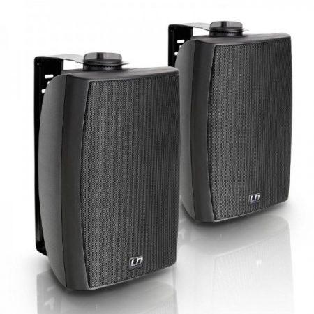 """LD Systems Contractor CWMS 52B 100V – 5,25""""-os kétutas, falra szerelhető hangszórópár, 100 V-os rendszerekhez, fekete"""