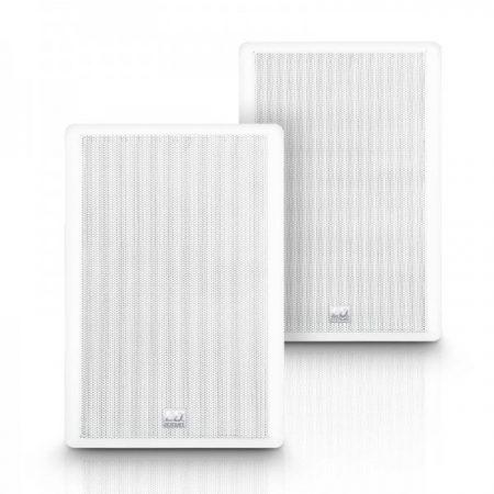 """LD Systems Contractor CWMSS 5W – 5,25""""-os kétutas, falra szerelhető hangszórópár, fehér"""