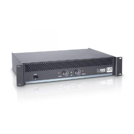 LD Systems DJ végerősítő, 2x400 W/4 Ohm, A/B osztályú