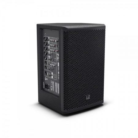 """LD Systems Stinger MIX 10 A G3 – 10""""-os aktív PA hangfal, beépített 7 csatornás keverő, DSP, Bluetooth"""