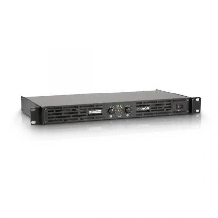 LD Systems XS végerősítő, 2x200 W/4 Ohm, D osztályú