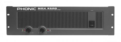 PHONIC MAX3500 Végerősítő, 2x1200W/4Ohm