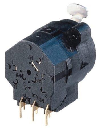 Neutrik NCJ10FIH XLR aljzat + 6,3-as jack aljzat GND + kapcsolós, sztereó 6,3-as, vízszintes nyákhoz, ezüstözött érintkező, műanyag ház