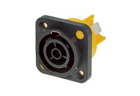Neutrik NAC3FPX PowerCon True1 beépíthető hálózati kimenet 250VAC/16A