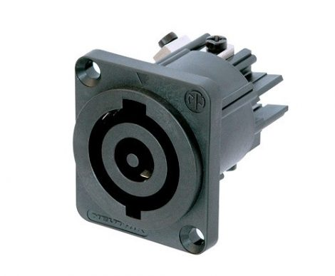 Neutrik NAC3MPHC powerCON beépíthető hálózati bemenet 250VAC/32A