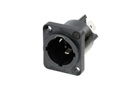 Neutrik NAC3MPX powerCON True1 TOP – beépíthető hálózati bemenet 250VAC/16A, UV védett