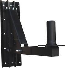 Robust hangfaltartó, fali 40 kg teherbírás, minden irányban állítható, dönthető, fekete