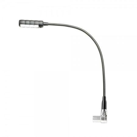 WorldMix LED-es lámpa – 4 COB LED, 3 pólusú pipa XLR csatlakozó, 400 mm hosszú, fehér fénnyel