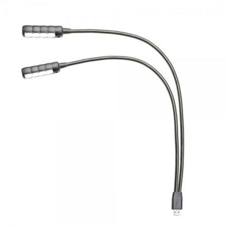 WorldMix keverő LED világítás – 2 x 4 COB LED, USB csatlakozó, 450 mm hosszú, fehér fénnyel